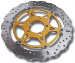 SPEED TRIPLE 1050 05~07 Radial Caliper: Brake Rotors. Contour/Wavy EBC MD679XC. (ABE/TUV) 10 Disc Bolts!!